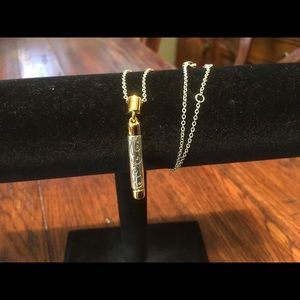 Brighton gold and silver bar necklace